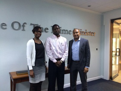 NDP Meets with Demeatrus Emmanuel, Researcher