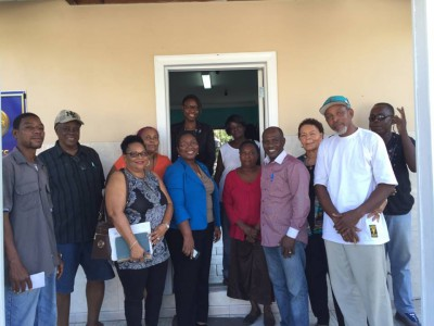 NDP presents to Montel Heights Association