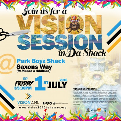 Vision Session at Saxon's Shack