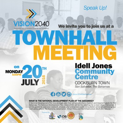 Town Hall Meeting- San Salvador