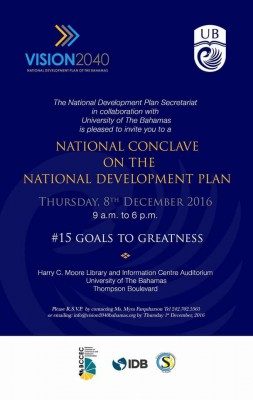 National Conclave on The National Development Plan