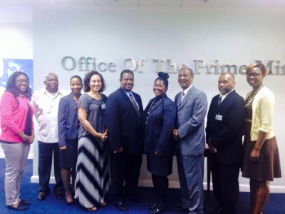 NDP team met with members of the Bahamas Trade Commission and Ministry of Financial Services