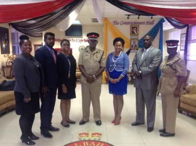 NDP Team meets with The Royal Bahamas Police Force