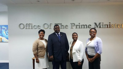 NDP team met with Mr. John Pinder, President of The Bahamas Public Service Union
