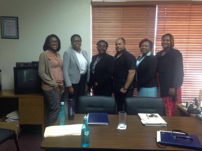 National Development Plan team meets with the Department of Social Services Rehabilitation Division