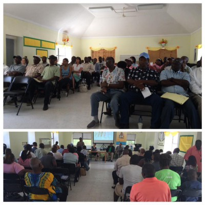 Public engagement activities continue in Andros with local government officials and community groups. #Vision2040Bahamas #ShareY