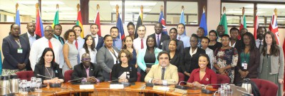 NDP participate in a regional capacity building seminar on trade policy and trade and investment promotion in Guyana